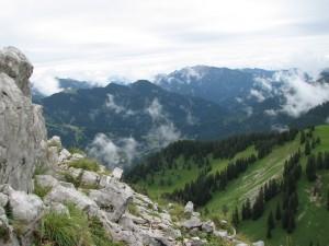 Uitzicht ergens op een Alm rond de Tegernsee