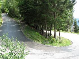 De Gerlizen Alpenstrasse, 12 kilometer lang...