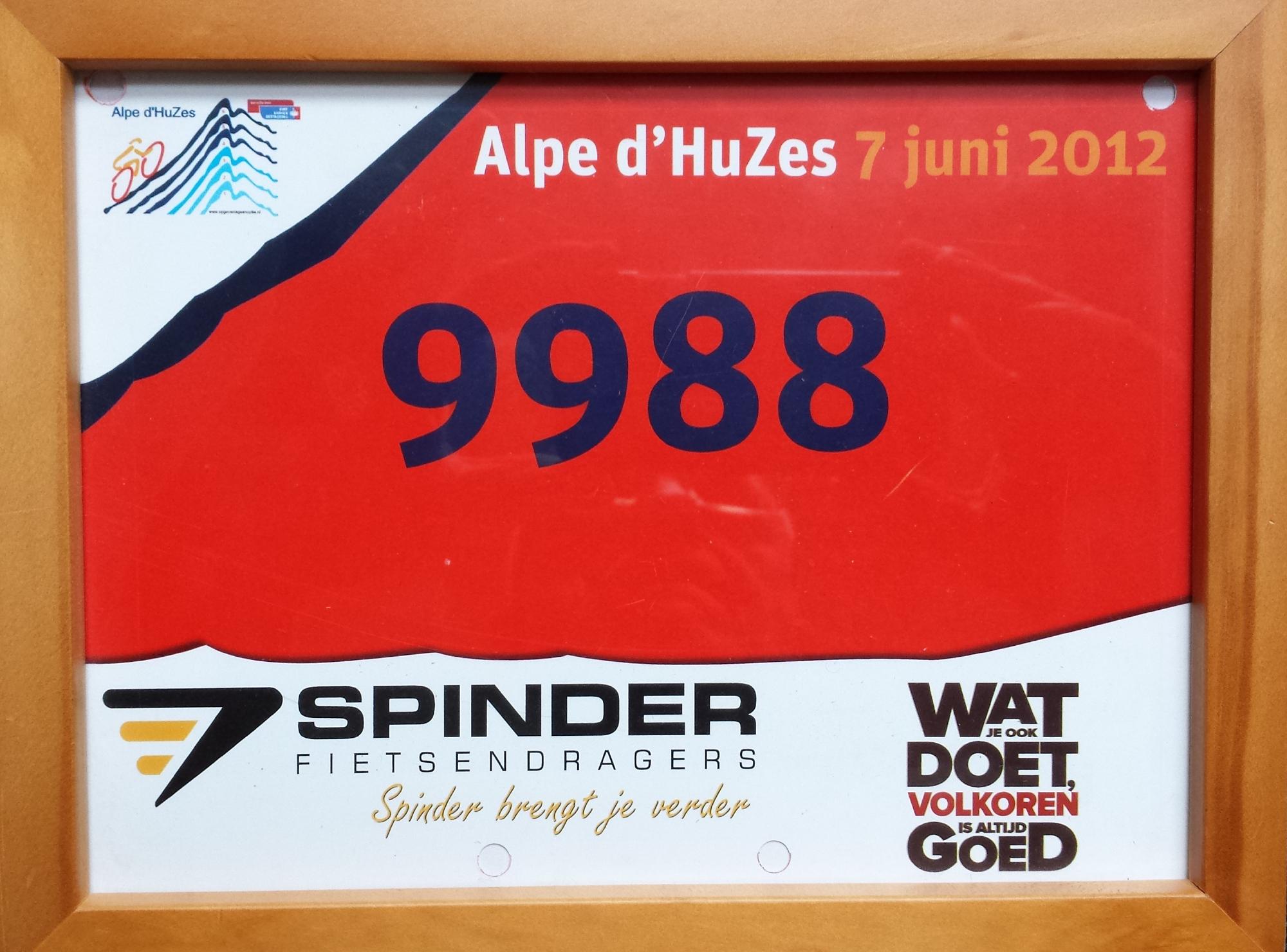 Alpe d'HuZes tag
